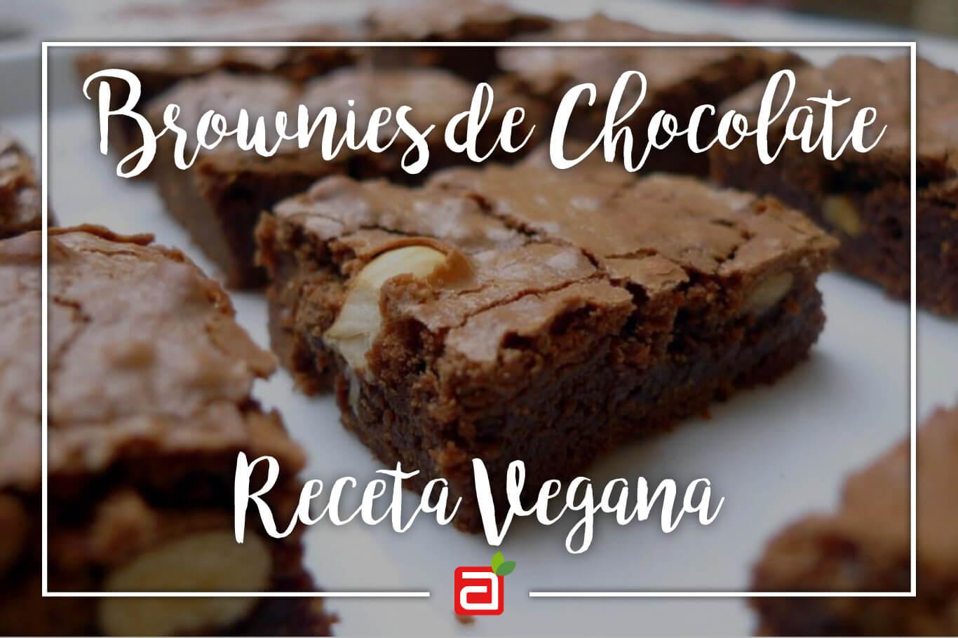 BROWNIES DE CHOCOLATE VEGANOS