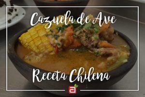CAZUELA DE AVE