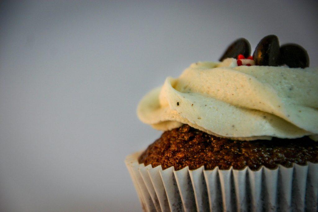 cupcake de coco cacao y avena
