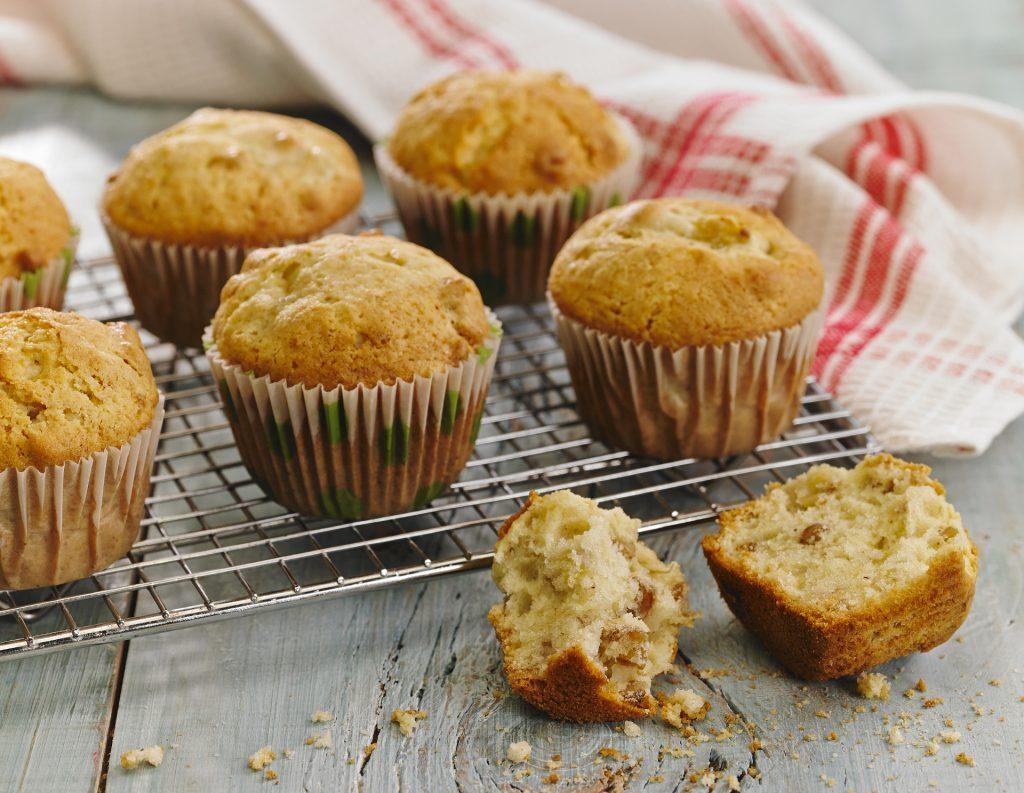 cupcakes de nueces saludables
