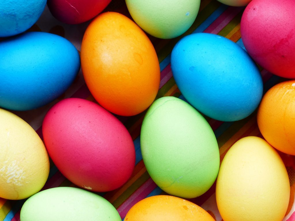 huevos de pascua saludables