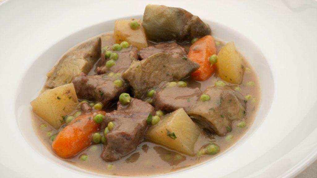 receta de estofado de carne