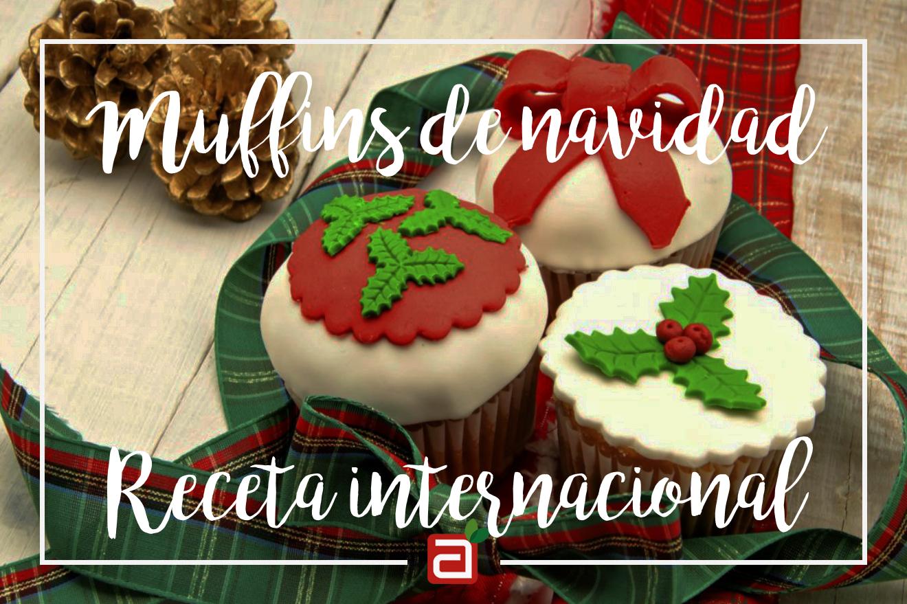 Muffins navideños
