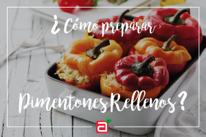 Receta: Cómo preparar pimentones rellenos al horno