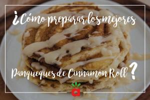 Receta: Panqueques de Cinnamon Roll