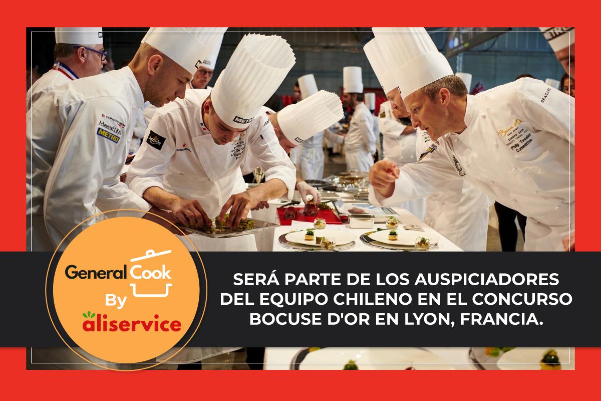 General Cook by Aliservice: Auspiciador del equipo chileno en el Concurso Bocuse D'Or
