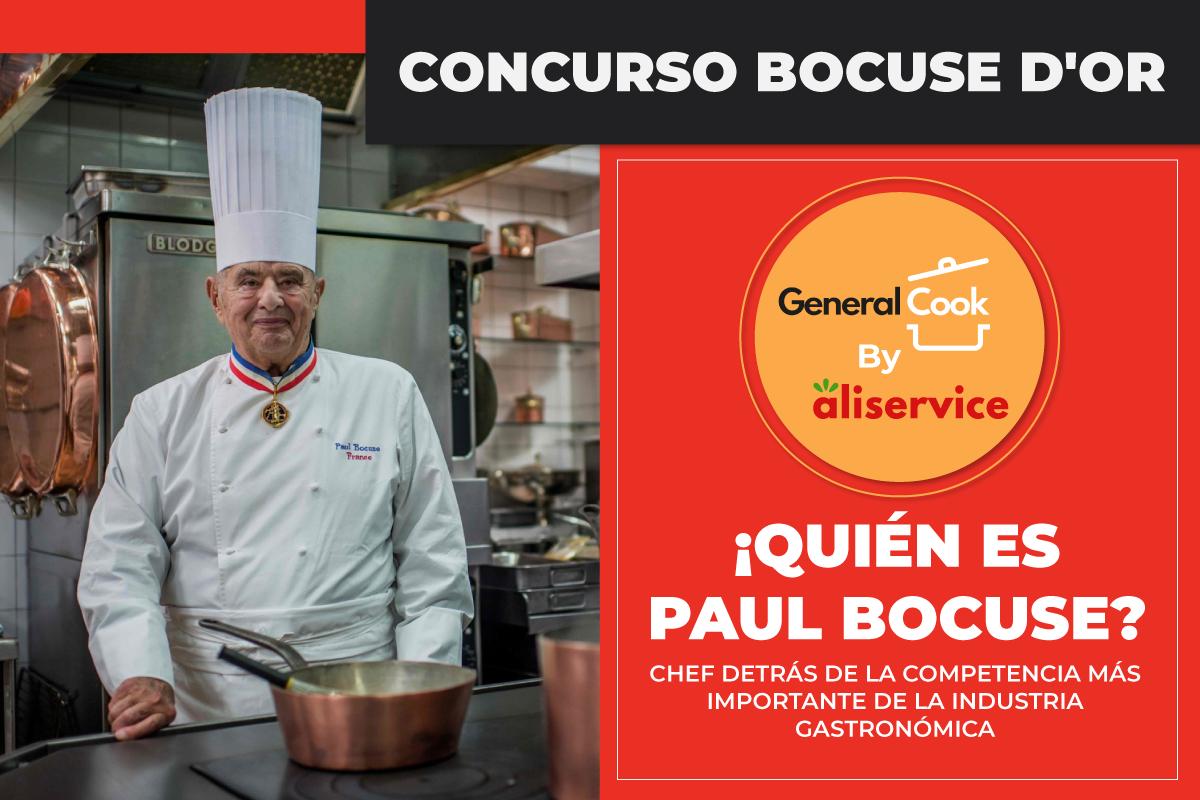 ¿Quién es Paul Bocuse? El Chef detrás de la competencia más importante de la industria Gastronómica.