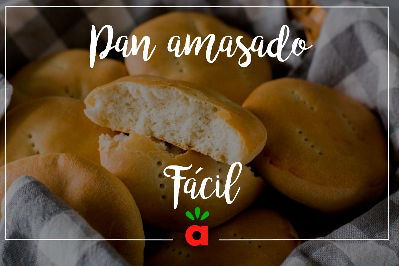 Receta de Pan amasado Fácil